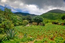 Hierve El Agua Site - Valley View