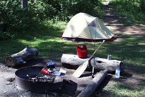 Campground Puente Alto