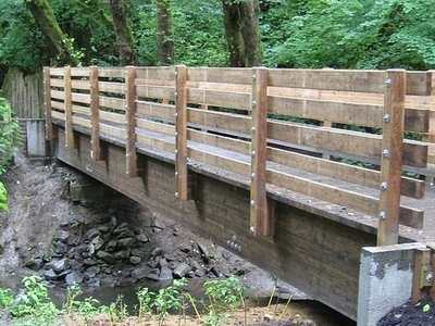 High Bridge Over Tryon Creek
