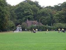 Pavilion And Football Pitch, Highgate Wood