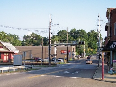 Highland Avenue In Williamstown In 2007 As Viewed From The South