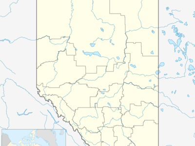 High Level Is Located In Alberta