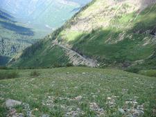 Highline And Granite Park Chalet Trail At Glacier - USA