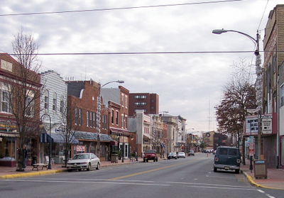 High Street In Downtown Millville