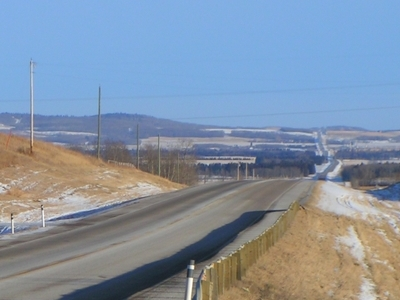 Highway 11 In Red Deer County