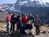 Hikers At Barranco Hut - Kilimanjaro