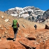 Hikers - Mount Aconcagua Provincial State Park In Argentina