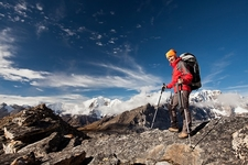Hiking Himalayan Mountains - Nepal