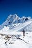 Hiking In Himalaya Mountains Of Nepal