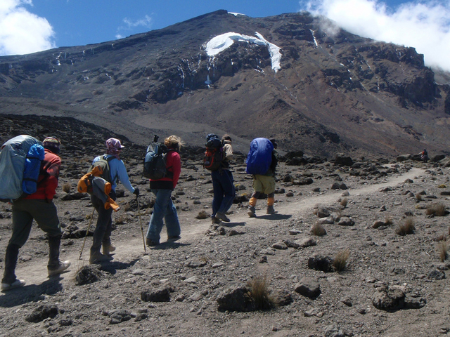 Mount Kilimanjaro Trekking Expedition Machame Route Photos