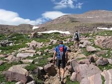 Hiking Upper Uintas UT