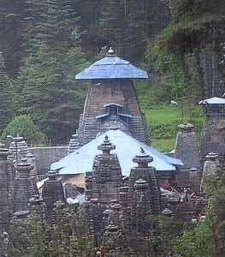 Temple Complex In Almora