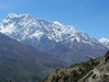 Himalayan Landscape - View Tilicho In Nepal