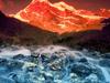 Himalayan Sunrise Near Everest Base Camp Nepal
