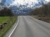 E10 Road In Lødingen