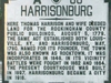 Harrisonburg Was Named For Thomas Harrison