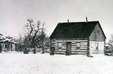Historic Photo Of The Maltese Cross Cabin
