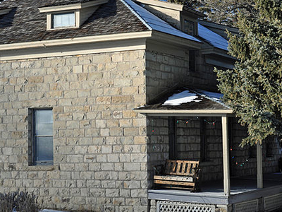 Historic US Commissioner's Residence At Yellowstone - Wyoming -