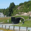 Entrance To The Hitra Tunnel