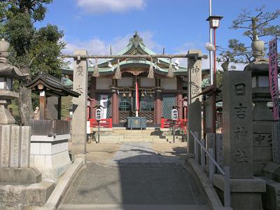 Hiyoshi-jinja, Asahi-ku, Osaka
