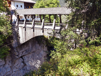 Hochstegbrücke, Finkenberg, Austria
