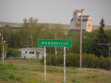 Hodgeville From The Higway.