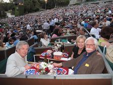 Hollywood Bowl Guests