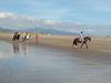 Horseback On Rossbeigh Beach In Ireland