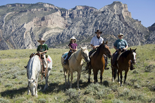 Horseback Within The Bighorns