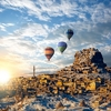 Hot Air Baloons Over Cappadocia