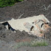 House Destroyed By Lava On The Slopes Of Etna