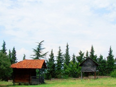 Houses At The  Ethnographic Museum