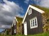 Houses Near Vatnajokull - Skaftafell National Park - Iceland
