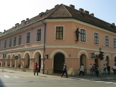 House With The Iron Man, Nagykanizsa