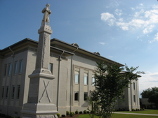 Houston County Old Courthouse In Perry Georgia