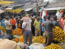 Howrah Flower Market - Kolkata WB