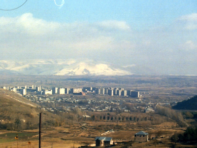 Hrazdan Seen From Tsaghkadzor