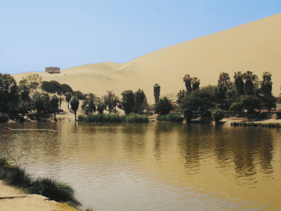 Huacachina, An Oasis Near Ica