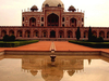 Humayuns Tomb Reflection In Pond