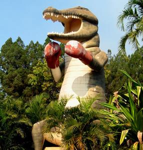 Humpty Doo's Big Boxing Crocodile