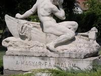 Hungarian Sorrow Statue
