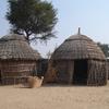 Huts In The Thar Desert