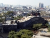 Hwaseong Fortress And The Skyline Of Suwon