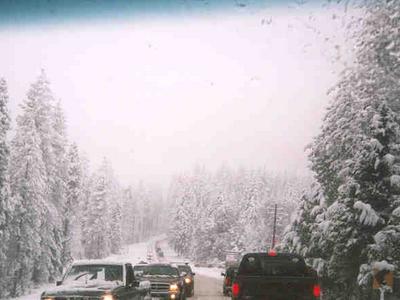 Hwy Snow Storm