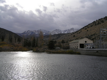 Hydroelectric Power Station Along Bishop Creek