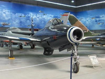 F-84G Aircraft N Main Hangar
