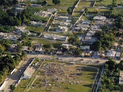 Haiti Earthquake Damage Overhead