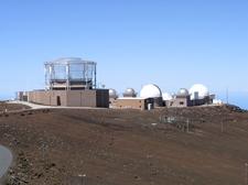 Haleakala Observatory With AEOS Telescope
