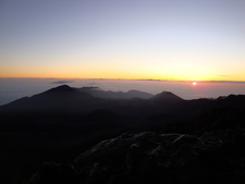 Sunrise At Haleakalā