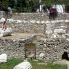 The Mausoleum Site In Ruins